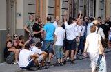 'Hajduk' fani sarīko nekārtības pie 'Skonto' stadiona
