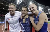 Amerikānis Kendrikss triumfē PČ kārtslēkšanas sacensībās; Lavilenjē atkal paliek bez zelta
