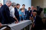 Tramps sadusmojies uz Trudo un negaidīti atsauc ASV atbalstu G7 samita komunikē