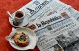 Itāļu neofašisti piesaka 'karu' laikrakstam 'La Repubblica'