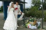 Neticamas foto pērles: Tā kāzas svin Krievijā