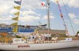 Jahta 'Spaniel' regatē 'The Tall Ships Races 2011' ieņem godpilno otro vietu savā klasē