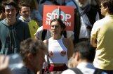 ФОТО: Парижская демонстрация против Макрона собрала 40 тысяч человек