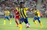 No FK 'Ventspils' aizbēgušais Akinjemi nosaukts par 'SynotTip Virslīgas' mēneša labāko spēlētāju