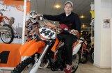 Jonass līguma ar KTM ietvaros saņems augstākās kvalitātes motociklus