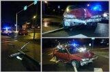 Rīgā iereibis šoferis bēg no policijas