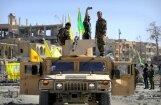 Kurdi pilnībā ieņem džihādistu 'galvaspilsētu' Raku