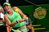 Ostapenko Indianvelsas WTA turnīra otrajā kārtā sīvā cīņā zaudē Cibulkovai