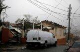 Foto: Spēcīgā viesuļvētra 'Marija' Puertoriko iedzīvotājus atstāj bez elektrības