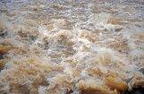 Ūdens līmenis austrumu novados vietām cēlies par pusotru metru