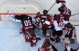 Канадцы с большим трудом прошли сборную Латвии
