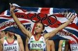 Septiņcīņniece Enisa pēc triumfa neskries 100 metru barjerskrējienu