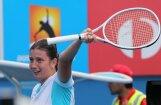 Foto: Anastasija Sevastova iekļūst 'Australian Open' astotdaļfinālā