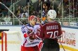 Rīgas 'Dinamo' izcīna punktu pret Maskavas CSKA