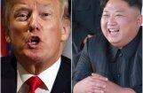 Ziemeļkoreja draud atcelt plānoto Kima tikšanos ar Trampu