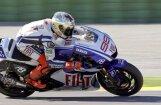 Lorenso ceturto gadu pēc kārtas uzvar 'MotoGP' ASV posma kvalifikācijas sacensībās