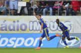Ikaunieka rezultativitāte ļauj 'Vysočina' turpināt pārsteidzošo uzvaru sēriju Čehijas futbola čempionātā