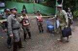 Sākta Taizemes pazemē iesprostoto zēnu glābšana