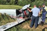 Подробности ЧП в Бауском крае: самолет разбился во время экстренной посадки