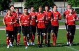 Latvijas U -21  izlases futbolisti atkal negūst vārtus