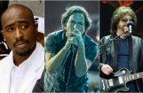 Rokenrola slavas zālē uzņems Tupaku, 'Pearl Jam', ELO un citus