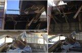 ФОТО: Из-за обвалившихся перил Вантовый мост могут закрыть