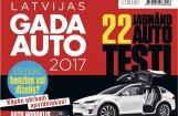 Izdots ikgadējais žurnāls 'Latvijas Gada auto 2017'