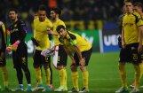 Čempionu līgas pārceltajā mačā 'Monaco' viesos rezultatīvi uzvar uzbrukumā cietušo 'Borussia'