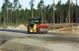 В Краславском крае потерпел аварию каток