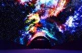Video: Berlīnē demonstrē pasaulē lielāko OLED televizoru tuneli