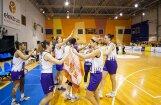 Foto: 'TTT Rīga' basketbolistes ceturto gadu pēc kārtas triumfē apvienotajā čempionātā
