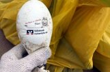 Jūra Kurzemes krastā izsviež Vācijā bankas svinībās palaistu hēlija balonu