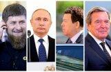 Foto: Putins un augstie viesi Krievijas prezidenta inaugurācijas ceremonijā