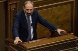 Protestu līderis Pašinjans ievēlēts par Armēnijas premjeru