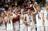 Latvijas U-18 basketbolisti savās mājās iegūst Eiropas čempionāta sudrabu