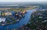 Латвийские порты закончили год с плюсом, спад только в Вентспилсе