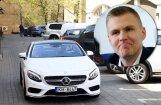 Foto: Porziņģis Latvijā nopircis smalku auto