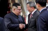 Ким Чен Ын прилетел в Сингапур на встречу с Трампом