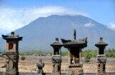 Indonēzijas Bali salā vulkāna trauksme paaugstināta līdz augstākajam līmenim