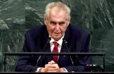 Čehijas prezidents rosina Krimu iemainīt pret kompensāciju Ukrainai