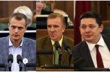 Šosezon Saeimā visbiežāk debatējuši Zariņš un Kalnozols