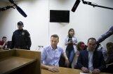 Navaļnijam piespriests 30 diennakšu administratīvais arests
