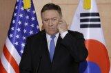 Kamēr Ziemeļkoreja nebūs veikusi denuklearizāciju, sankcijas netiks atceltas, pauž Pompeo