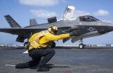 ASV iznīcinātājs 'F-35' veicis pirmo uzlidojumu