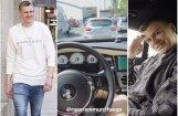 Video: Porziņģis ar 'Rolls-Royce' aizkūlies līdz Spānijai