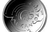 ФОТО: Банк Латвии выпускает новую серебряную монету достоинством пять евро