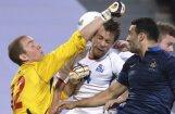 Francijas futbola izlase pārbaudes spēlē ar milzu grūtībām uzvar Islandi