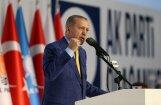 Erdogans draud saraut attiecības ar Izraēlu Jeruzalemes jautājuma dēļ