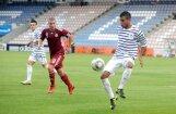 Latvijas U -21  futbola izlase Eiropas čempionāta kvalifikācijas turnīra spēlē zaudē Francijai