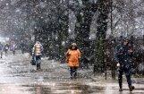 No nākamās nedēļas vidus Latvijā iespējams sniegs un lietus